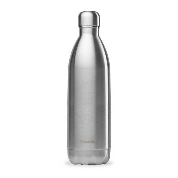 Qwetch - Bouteille isotherme Originals Inox 1L