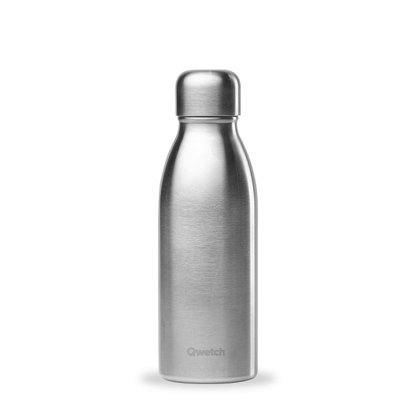 Qwetch - Bouteille simple paroi inox One 50cl