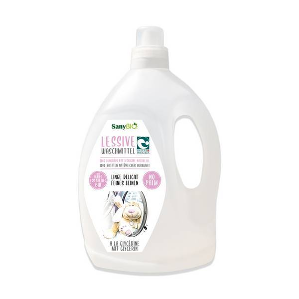 SanyBio - Lessive linge délicat sans palme Lavande 3L