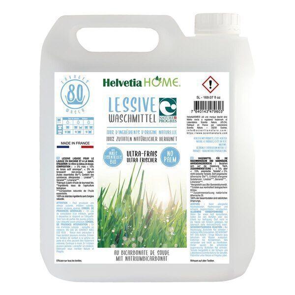 SanyBio - Lessive liquide fraîcheur sans palme 5L