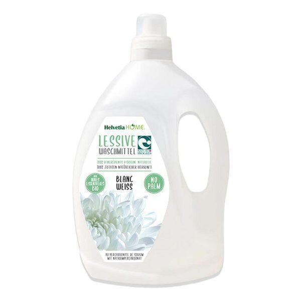 SanyBio - Lessive liquide linge blanc sans palme 3L