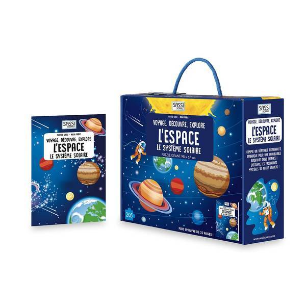 SASSI Junior - Voyage, découvre, explore: L'Espace - Dès 6 ans