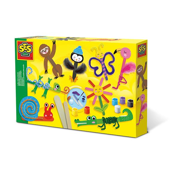 SES Creative - Bâtonnets animaux - Dès 5 ans