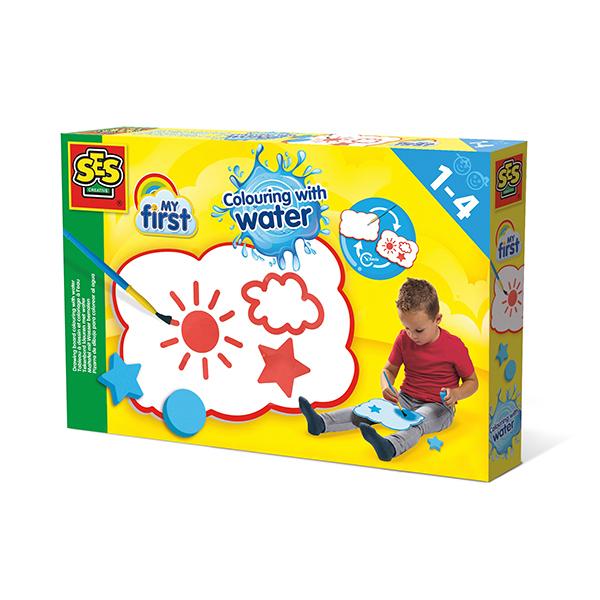 SES Creative - My First Tableau spécial pour peinture à eau - Dès 1 an