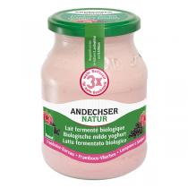Andechser Natur - Yaourt framboise sureau 500g