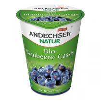 Andechser Natur - Yaourt myrtille cassis 500g