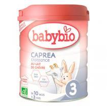 Babybio - Capréa 3 Lait de chèvre infantile bio 3ème âge 800g - Dès 1
