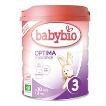 Babybio - Babybio Optima 3 lait de croissance 800g