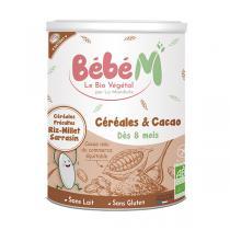 Bébé M - Céréales Cacao à partir de 8 mois 400g