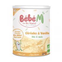 Bébé M - Céréales et vanille 400g - Dès 6 mois
