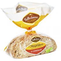 Belledonne - Pain 5 céréales tranché 400g