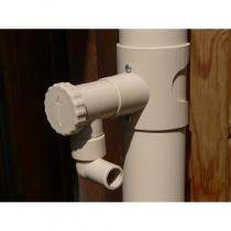 Capt'eau - Récupérateur d'eau de pluie pour gouttière ronde Sable