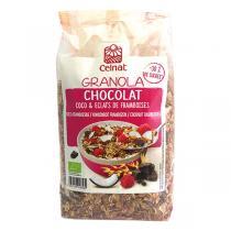 Celnat - Granola chocolat coco framboises 375g