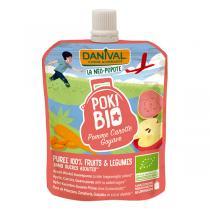 Danival - Pokibio pomme carotte goyave 90g