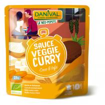 Danival - Sauce veggie coco curry 25cl