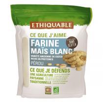 Ethiquable - Farine maïs blanc Pérou 400g
