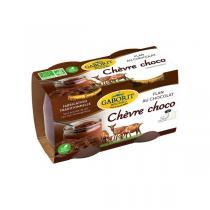 Gaborit - Flan chèvre chocolat 2x125g