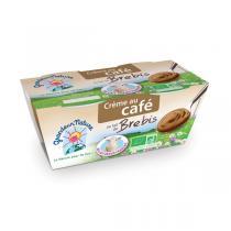 Grandeur Nature - Crème dessert café au lait de brebis 2x100g