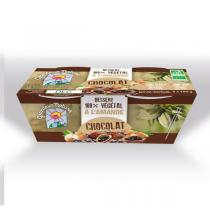 Grandeur Nature - Dessert végétal amande chocolat 2x100g