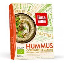 Lima Frais - Hummus Coriandre Menthe 140g