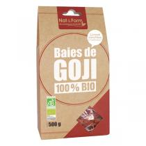 Nat & Form - Lot de 2 x Baies de Goji 100% Bio -2 x 500g