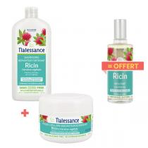 Natessance - Pack soins des cheveux à l'huile de ricin
