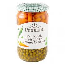 ProSain - Petits pois très fins et jeunes carottes 660g