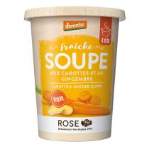 Rose - Soupe Carottes Gingembre 400ml