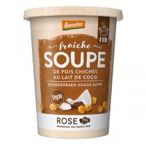 Rose - Soupe Pois chiches et Lait de coco 400ml