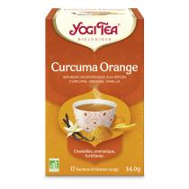 Yogi Tea - Infusion Curcuma Orange x 17 sachets