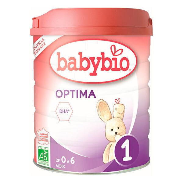 Babybio - Babybio Optima 1 lait pour nourrissons 1er âge bio 800g