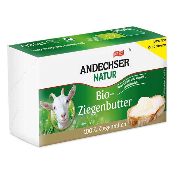 Andechser Natur - Beurre de chèvre 125g