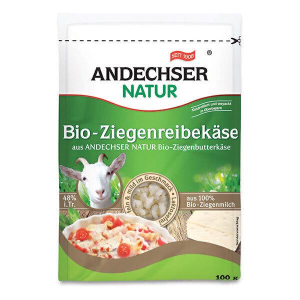 Andechser Natur - Fromage chèvre râpé 100g