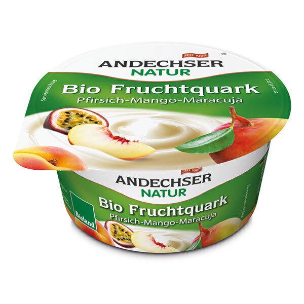 Andechser Natur - Fromage frais Pêche Mangue 150g