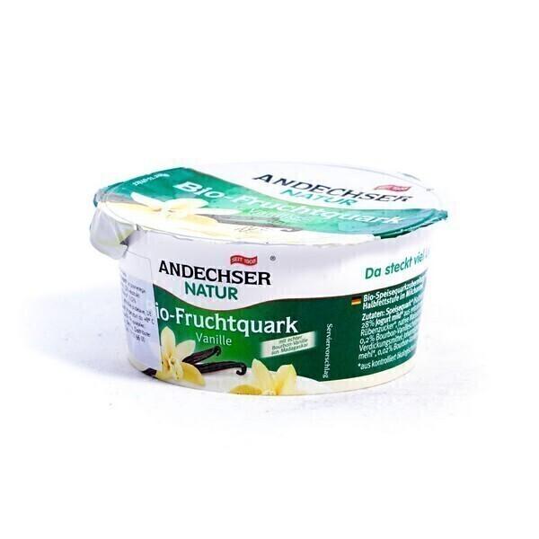 Andechser Natur - Fromage frais Vanille 150g