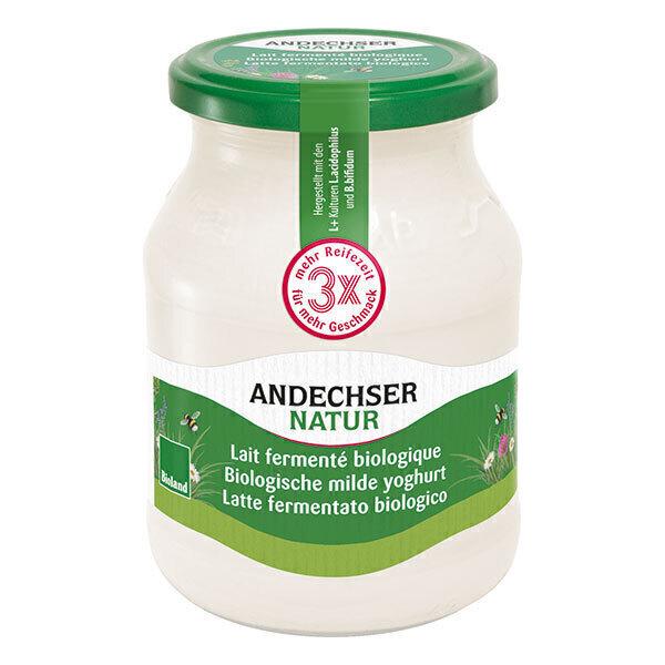 Andechser Natur - Yaourt nature 500g