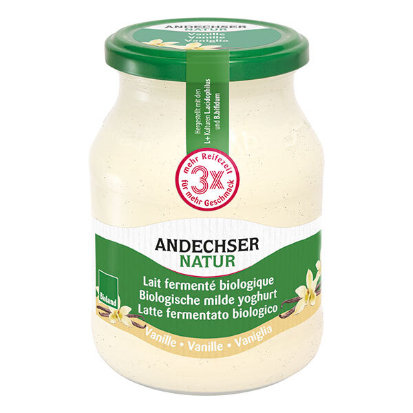 Andechser Natur - Yaourt vanille 500g