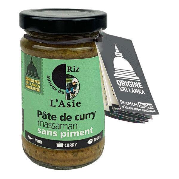 Autour du Riz - Pâte de Curry Massaman 100g