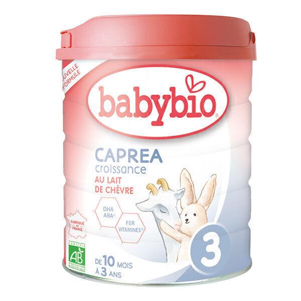 Babybio - Lot de 6 x Capréa 3 Lait de chèvre infantile bio 3ème âge 8
