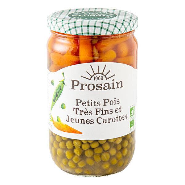 ProSain - Petits pois tres fins et jeunes carottes 660g