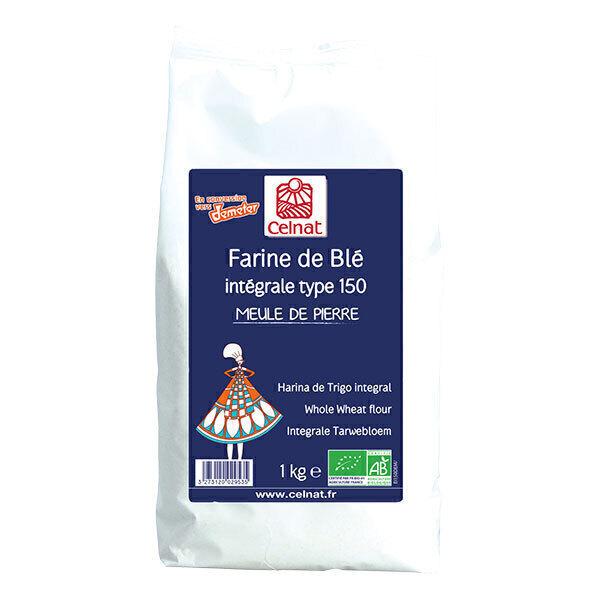 Celnat - Farine de blé T150 en conversion Demeter 1kg
