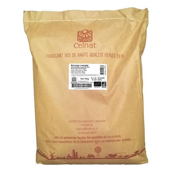 Celnat - Riz Long 1/2 complet 10kg