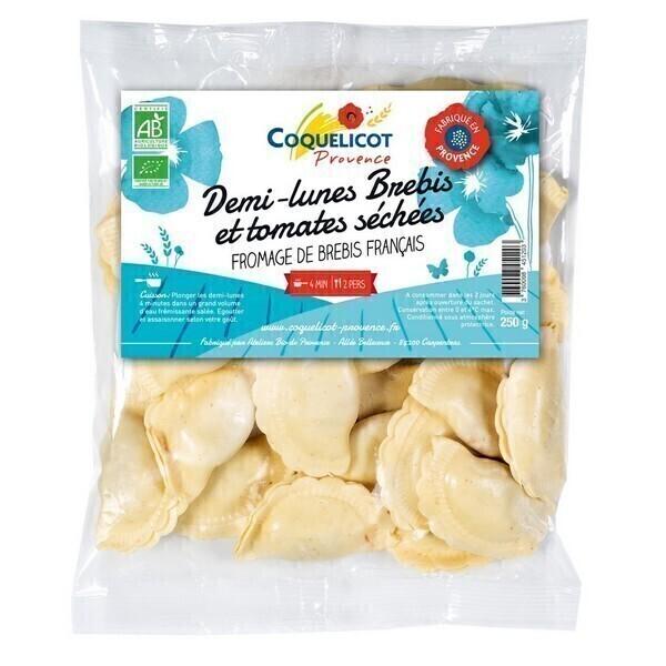 Coquelicot - Demi-lune fromage de brebis et tomates séchées 250g