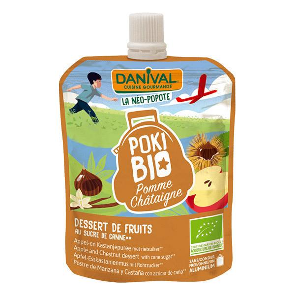 Danival - Pokibio pomme châtaigne 90g