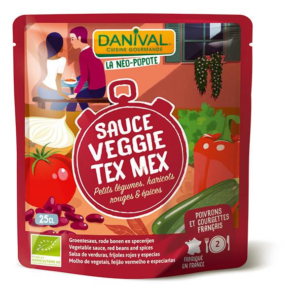 Danival - Sauce veggie tex mex 25cl