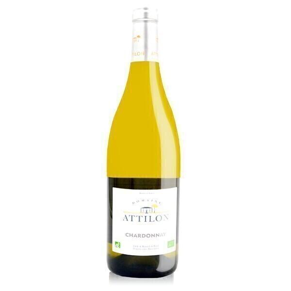 Domaine Attilon - Chardonnay IGP Méditerranée - Blanc sec 75cl