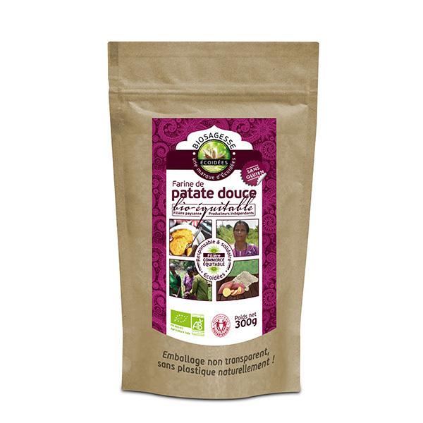Ecoidées - Farine de patate douce 300g
