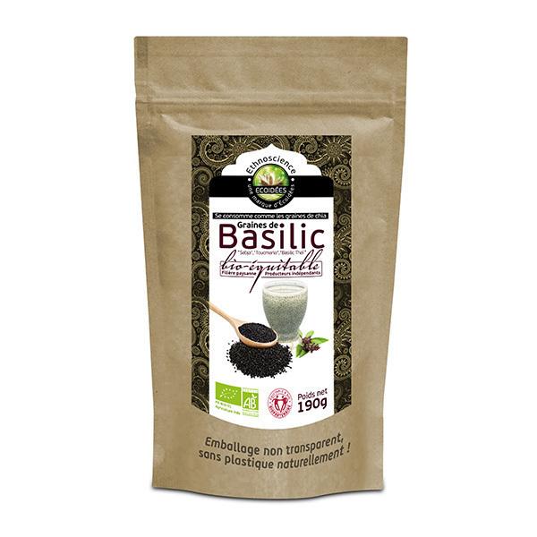 Ecoidées - Graines de basilic, 190g