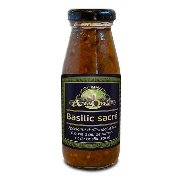 Ecoidées - Sauce basilic sacré 250ml