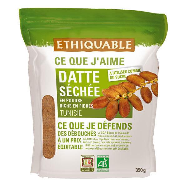 Ethiquable - Datte séchée poudre Tunisie 350g
